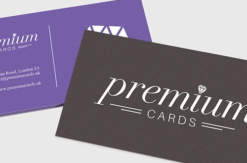 Textured Business Cards for quality printing