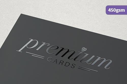 Spot UV shiny Business Cards for printing