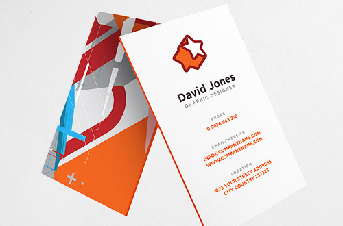 Triple Layer Business Cards very thick 800gsm